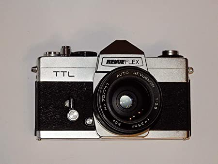 Revue flex TTL – 35 mm – Cámara réflex con objetivo Auto revuenon ...