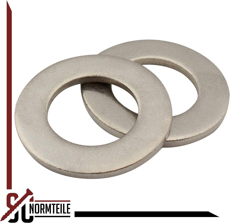 | SC125 rostfreier Edelstahl A2 | M18 V2A 50 St/ück Unterlegscheiben Form A Beilagscheiben SC-Normteile DIN 125