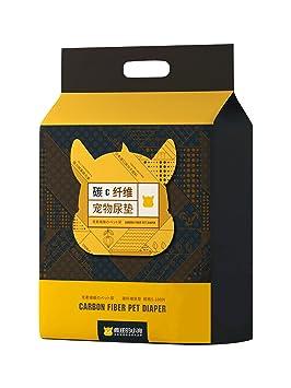 shanzhizui Perro Almohadilla Desodorización de Carbono Espesar Pañales Pañales para Gatos Almohadilla Absorbente Suministros de Mascotas
