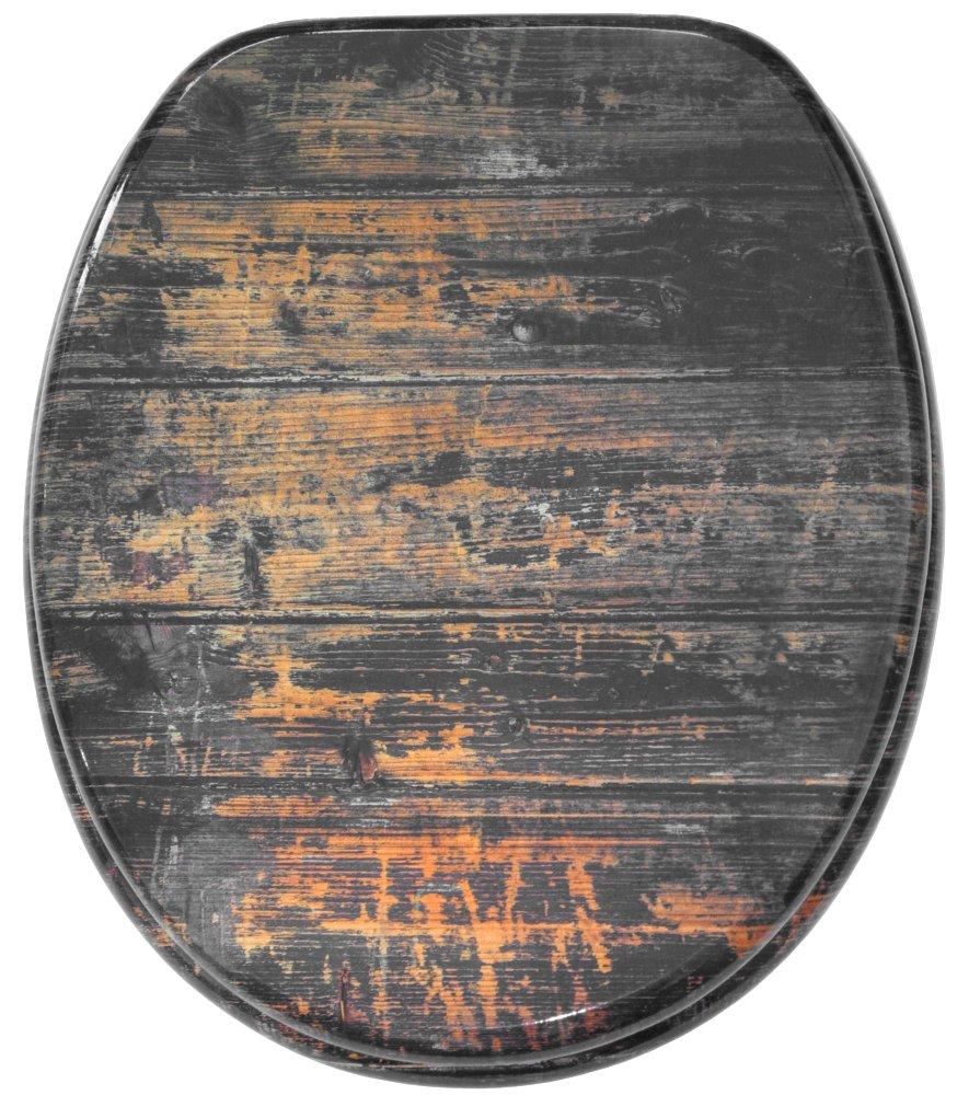 Abattant WC frein de chute soft close - Finition de haute qualité - Fixation facile - Vintage Sanilo A660440