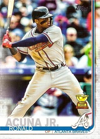 2019 Topps National Baseball Card Day Base#3 Ronald Acuna Jr