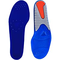 Spenco Gel Comfort Shoe Insole with Cushioning and Support, Women's 9-10 / Men's 8-9