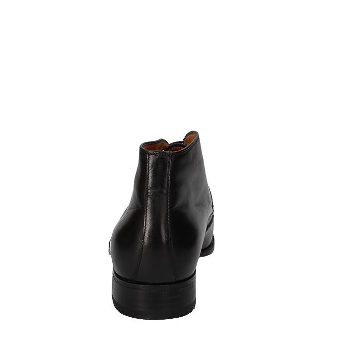 Eu 45 Cuir Bottes Sacs Chaussures Et Noir Homme Calpierre xXZIPq