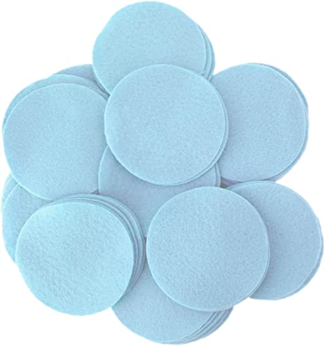Playfully Ever After 3//4 Inch Gray 150pc Felt Circles
