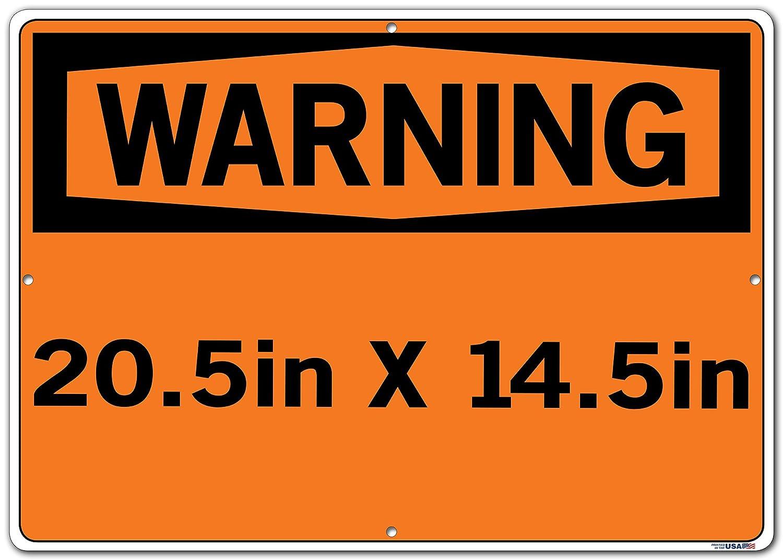 Vestil SI-W-29-B-LB-011-S SECURITY ALARM WILL SOUND IF DOOR IS OPENED//LA ALARMA DE SEGURIDAD SONAR/Á SI SE ABRE LA PUERTA Warning Label Vinyl 12.5 W x 9.5 H 0.011 Overall Size