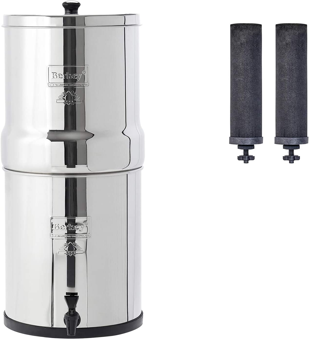 Berkey BK4X2-BB Water Filter Dispenser