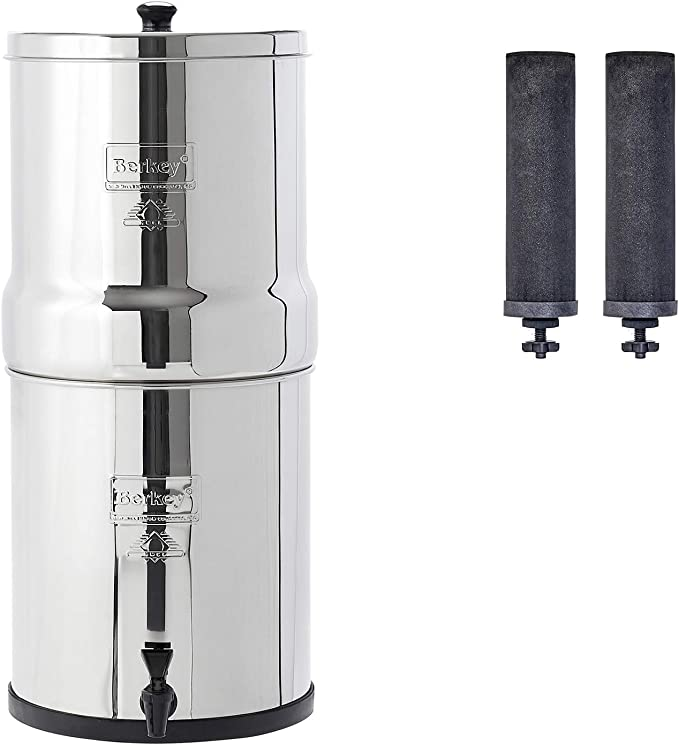 Bottiglia Sport BERKEY PRIMER ORIGINALE BERKEY Water Filter System Vai BERKEY KIT