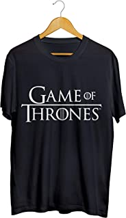 Camiseta Camisa Game Of Thrones Stark Got Hbo masculino preto