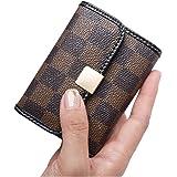 Sueway Women's Small RFID Blocking Card Holder Leather Mini Cute Coin Purse Wallet