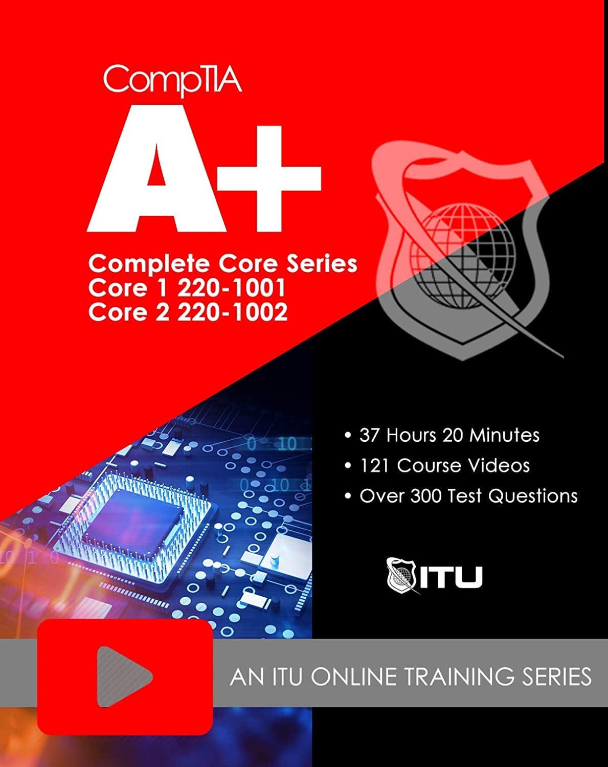 220-1001 / 220-1002 CompTIA A+ Core Series Training Course (Online Registration Code) 71qNu3cUe2L