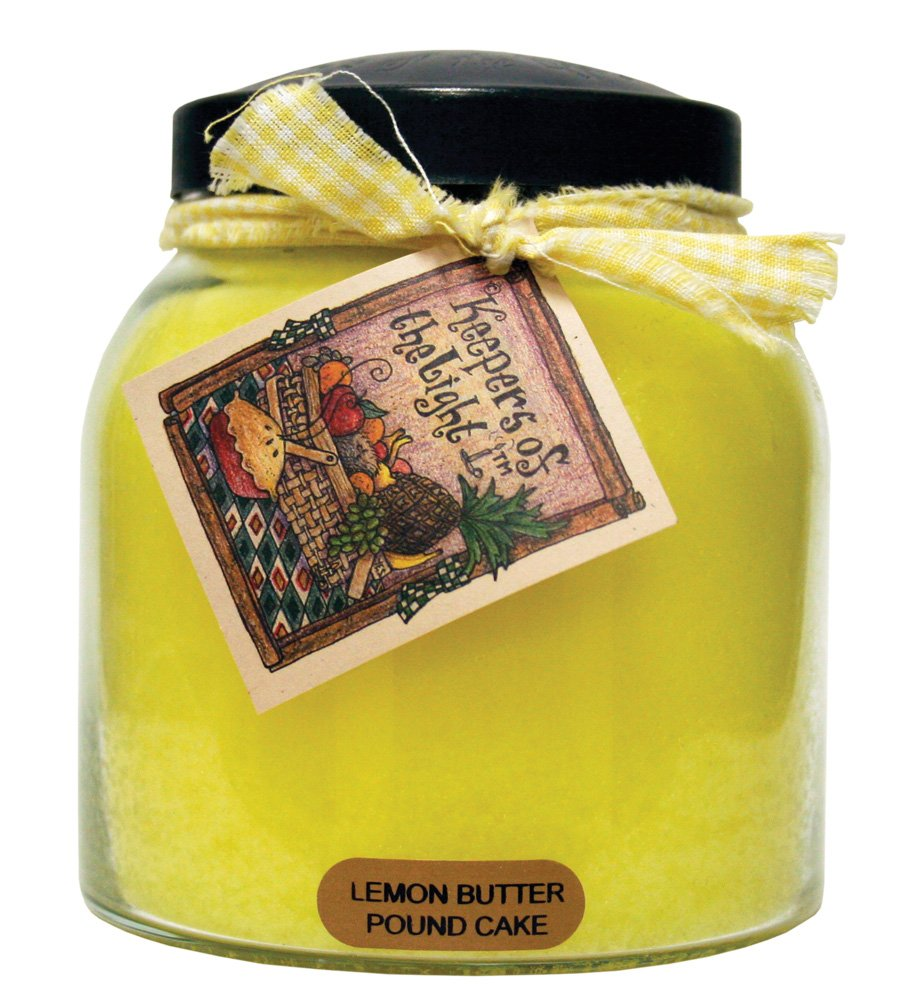A Cheerful Giver Lemon Butter Pound Cake Papa Jar Candle, 34-Ounce - Holds 34 ounces Burn time is 155 hours All of the candles are made with quality wicks and more fragrance to go above and beyond your expectations - living-room-decor, living-room, candles - 71qNu87YhsL -