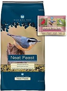 BLUE SEAL Neat Feast Bird Seed & Nut & Berry Suet Cake Bundle