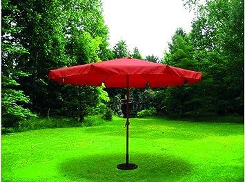 sol-jardin Sombrilla Parasol 3,5 Metros diámetro Tubo 48mm de Aluminio Terracota y Tela de Poliester: Amazon.es: Bricolaje y herramientas