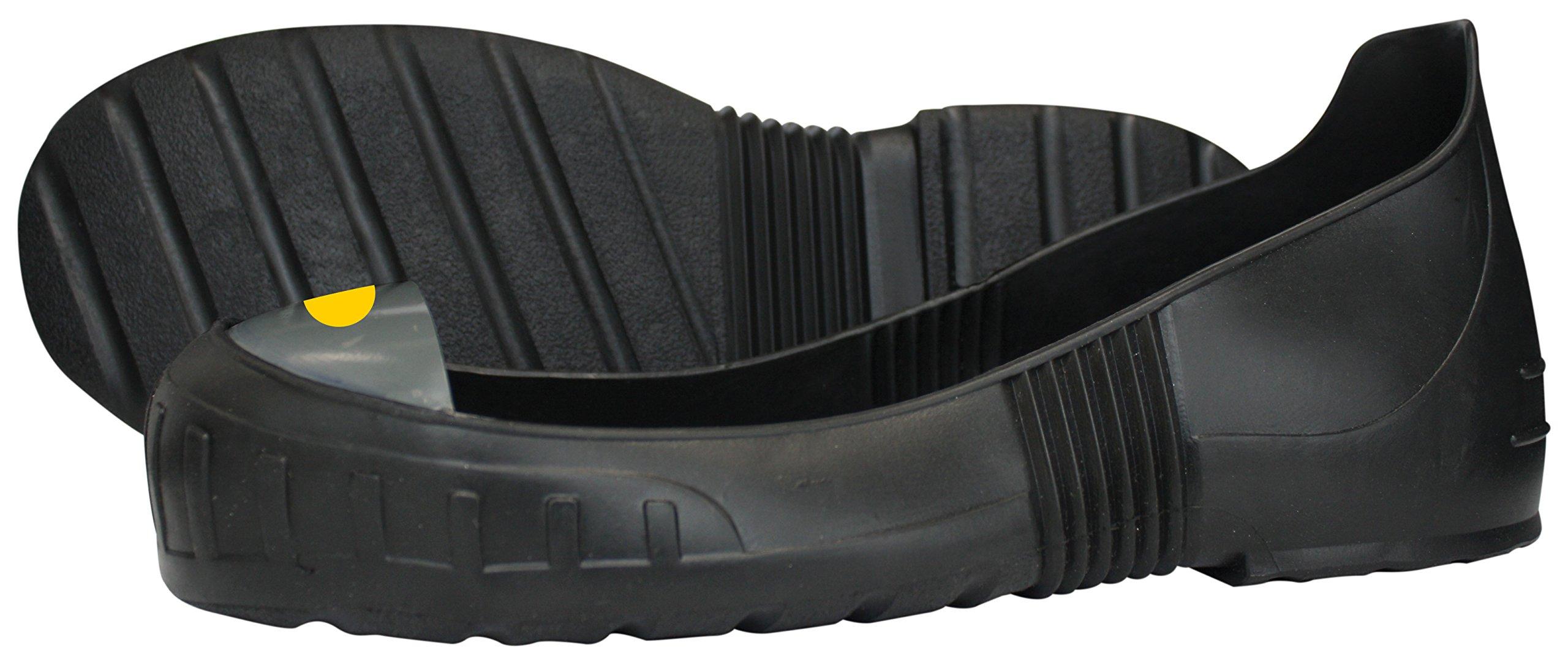MEGAComfort MEGA Steel Toe Overshoe, PVC + Steel Toe Cap, Medium, Men's Size 7-9, Women's Size 8.5-10.5