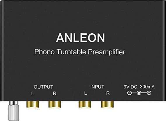 ANLEON Mini Phonograph Preamplifier Phono Turntable Preamp Preamplifier for Audio Technica
