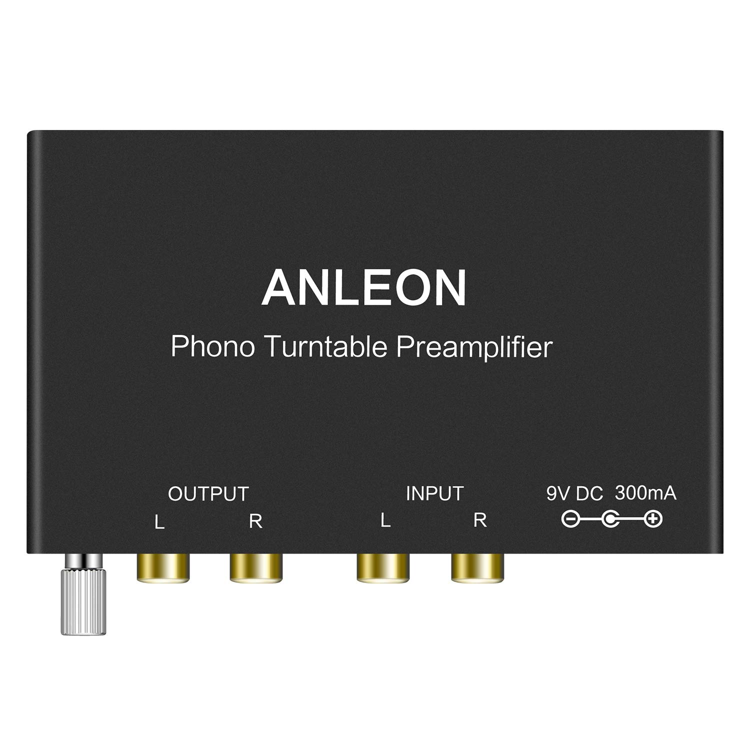 ANLEON Mini Phonograph Preamplifier Phono Turntable Preamp Preamplifier for Audio Technica, Crosley, Jensen, Pioneer, Victrola and More Turntables Phono preamp stereo turntable rca pre amplifier to