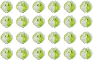 24 Pack Lint Remover Washing Balls-Reusable Washing Balls Plastic Dryer Balls Magic Hair Fur Removal Laundry Balls