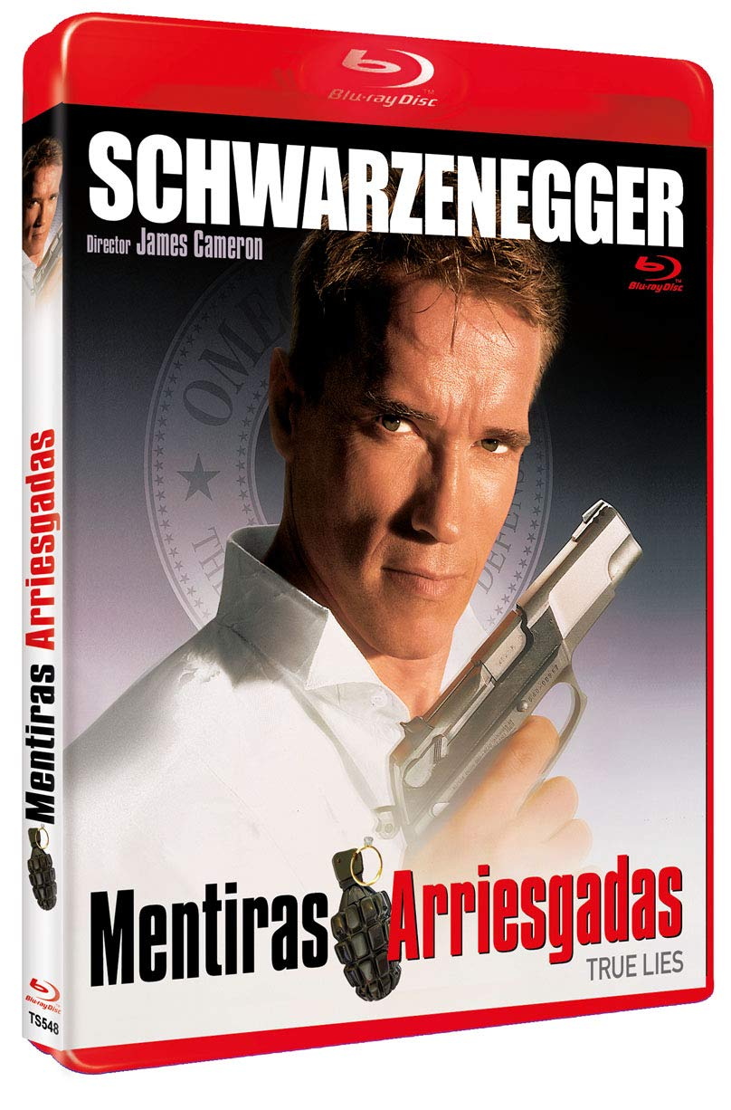 Mentiras Arriesgadas BD 1994 True Lies [Blu-ray]: Amazon.es ...