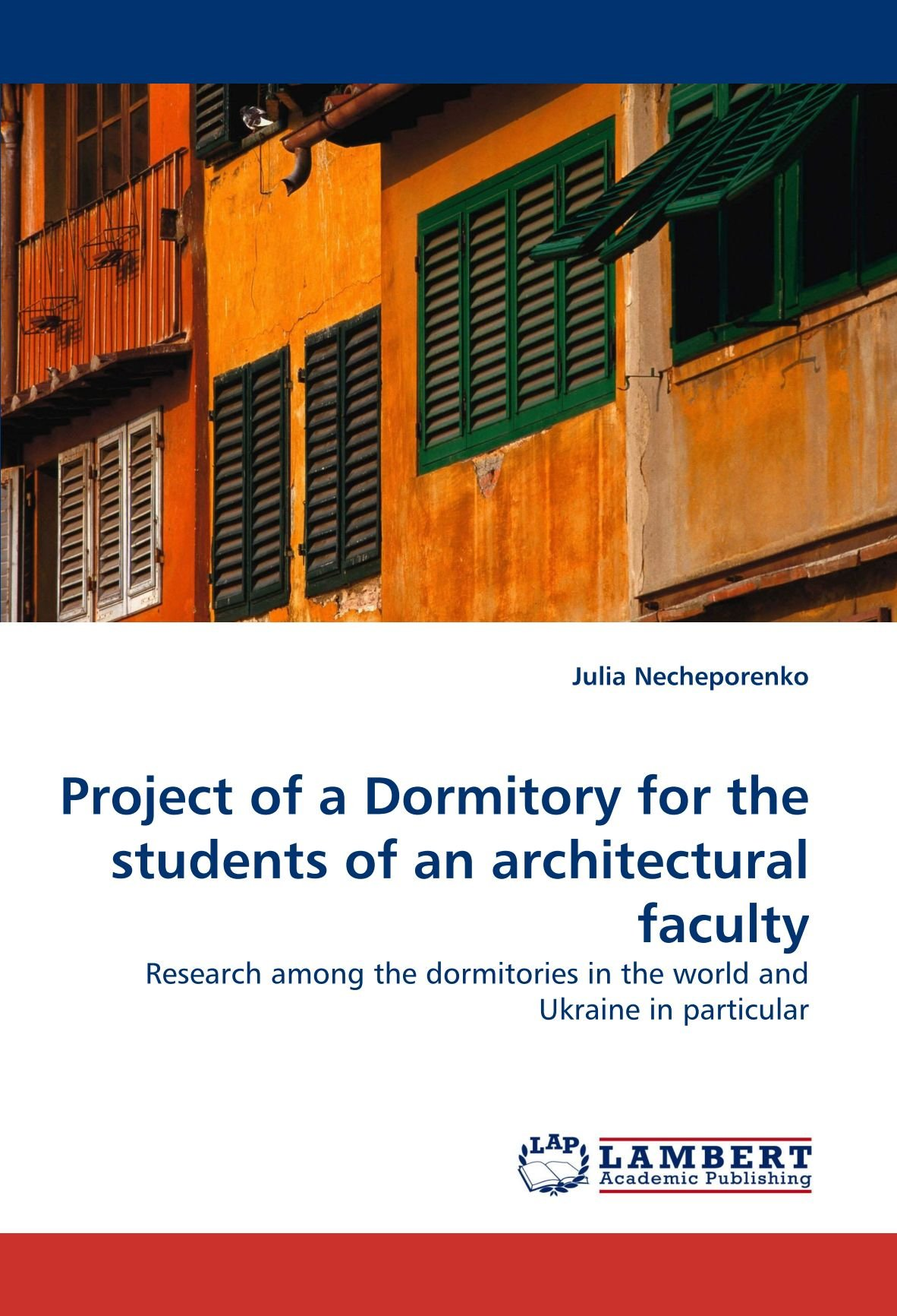 Project of a Dormitory for the students of an architectural