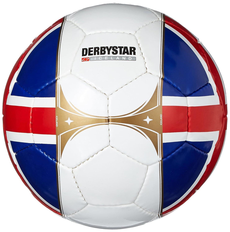 Derby Star Países Ball Island, Azul/Blanco/Rojo, 5, 1505510000 ...