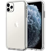 JETech Case for Apple iPhone 11 Pro Max (2019) 6.5-Inch, Shock-Absorption Bumper Cover, Anti-Scratch Clear Back, HD Clear