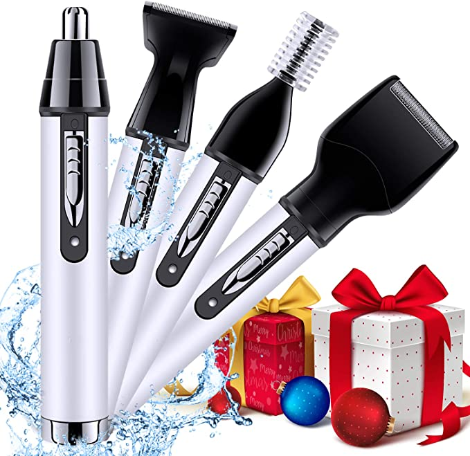 Afeitadora Eléctrica Hombre Barba Rotativa Viaje Recortadora 4 en 1 4D impermeable Uso Mojado y Seco Mquina con 3 Cabezas Giratorias Pantalla LCD: Amazon.es: Salud y cuidado personal