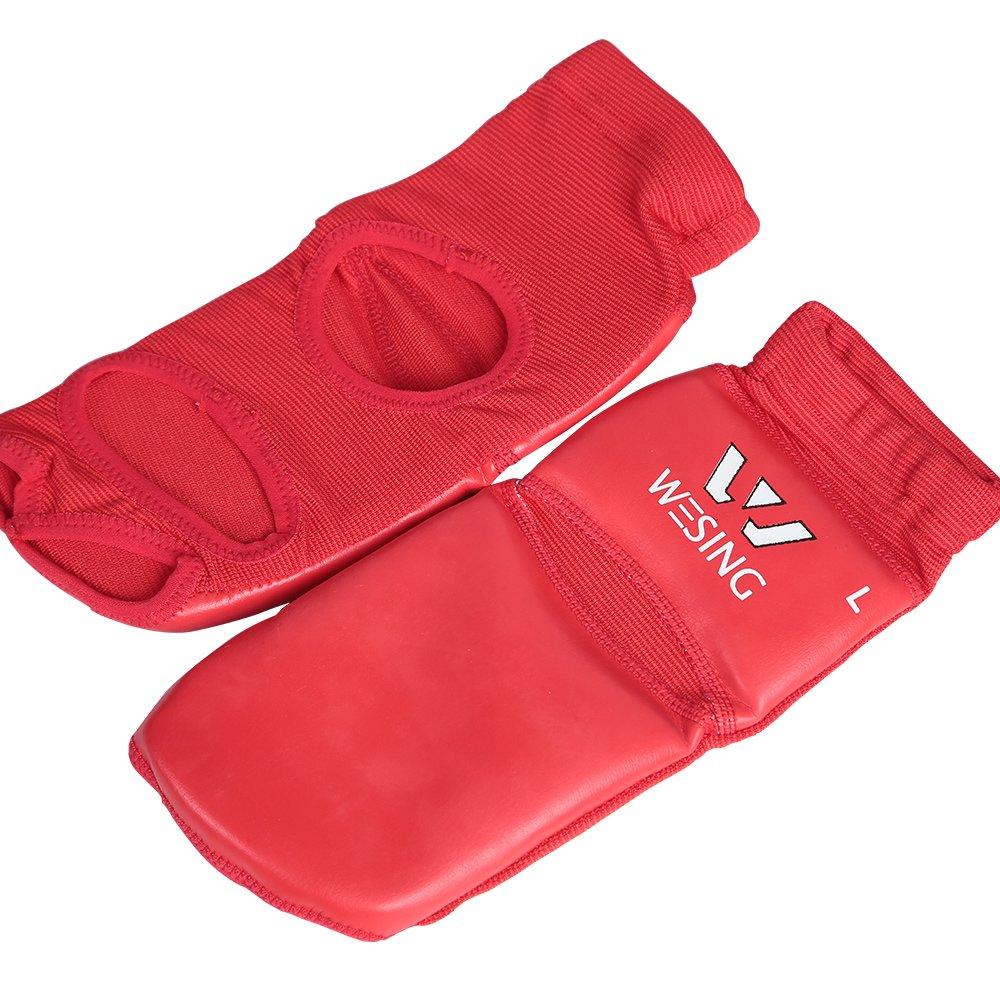 wesing Pro empeine Guardia Protector de pies para artes marciales Muay Thai MMA