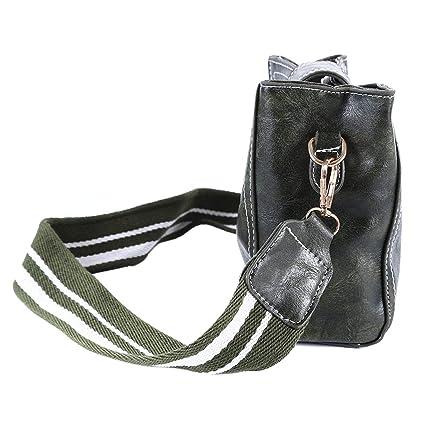 f4cffd44d884 Amazon.com: Essencedelight Bucket Bag Wide Shoulder Strap Crossbody ...
