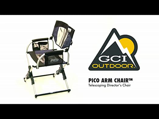 Amazon.com : GCI Outdoor Pico Arm Chair, Navy : Camping Chairs : Sports U0026  Outdoors