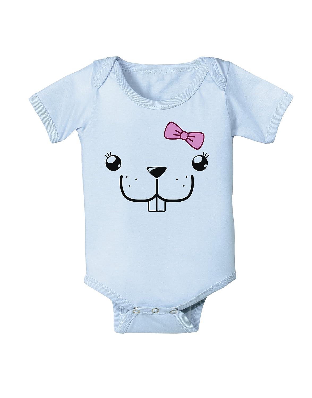 Bucklette Cute Girl Beaver Infant One Piece Bodysuit TooLoud Kyu-T Face