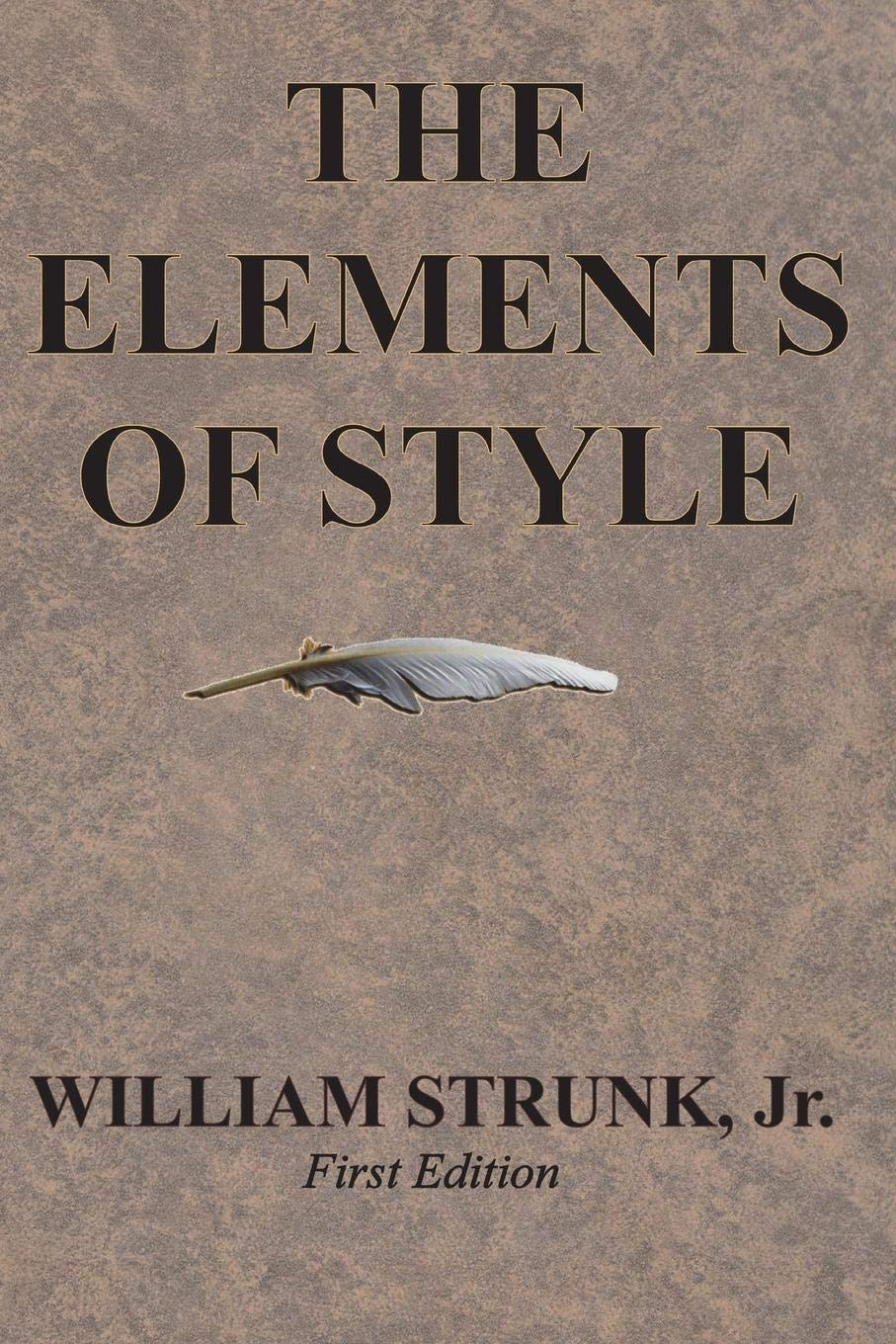 The Elements Of Style William Strunk Jr 9781945644016 Amazon Com