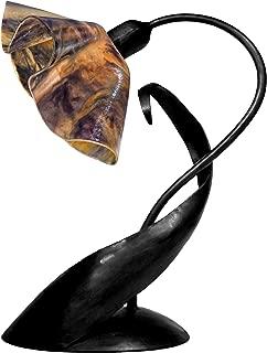 product image for Jezebel Signature TLLD-B-LP14-WILD Lily Style Black Lazy Daisy Lamp, Wild Iris