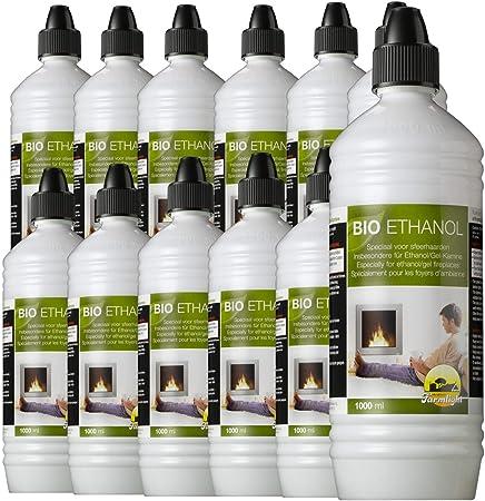 5 litres haute bio éthanol pour cheminées