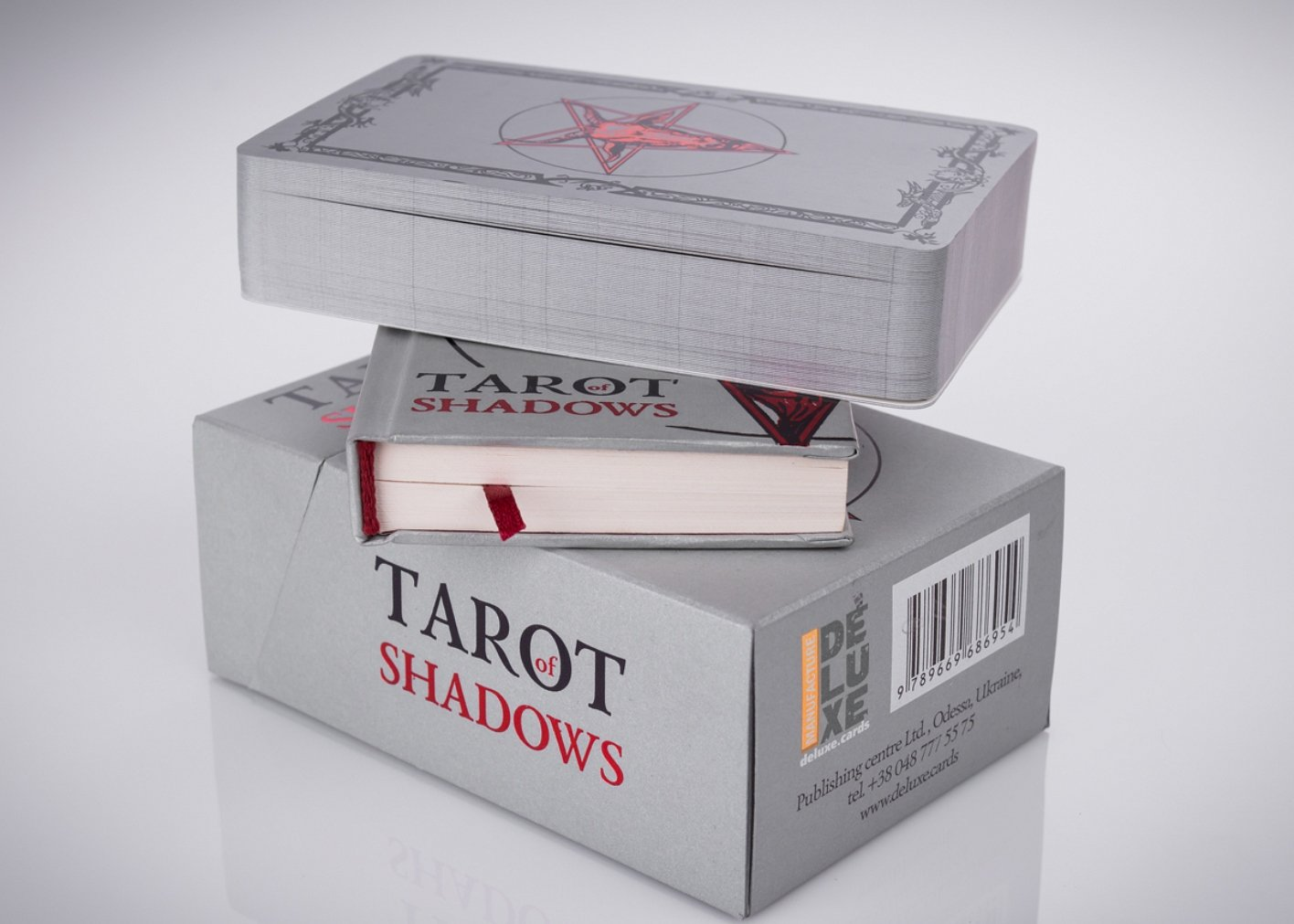 A Tarot Cards Deck Purposed to Unravel the Shadows of the Soul. Set of 78 Unique Tarot Cards Tarot of Shadows Classic Edition