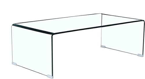Lightssy Tempered Glass Coffee Table