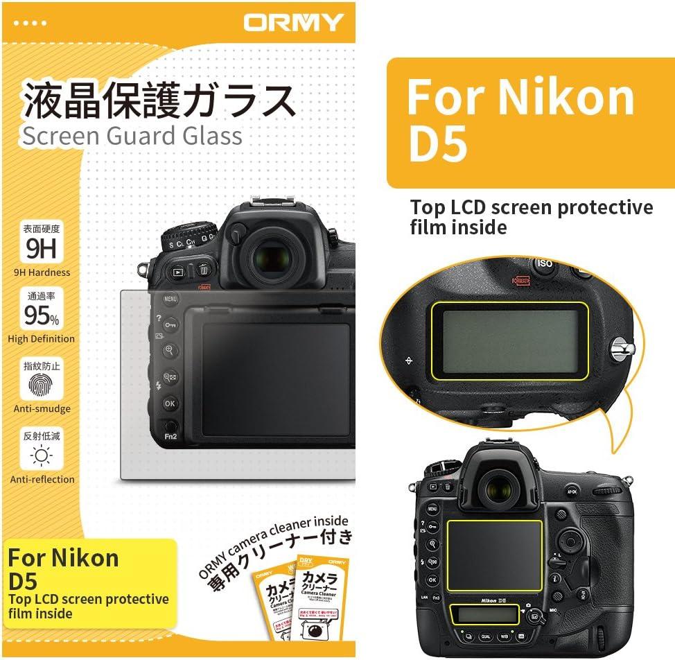 ORMY 0.3mm cámara Protector de pantalla para Nikon D5: Amazon.es ...