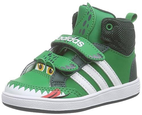 scegli l'autorizzazione miglior grossista il più votato genuino adidas Hoops Animal Mid in, Scarpe Walking Baby Bambino
