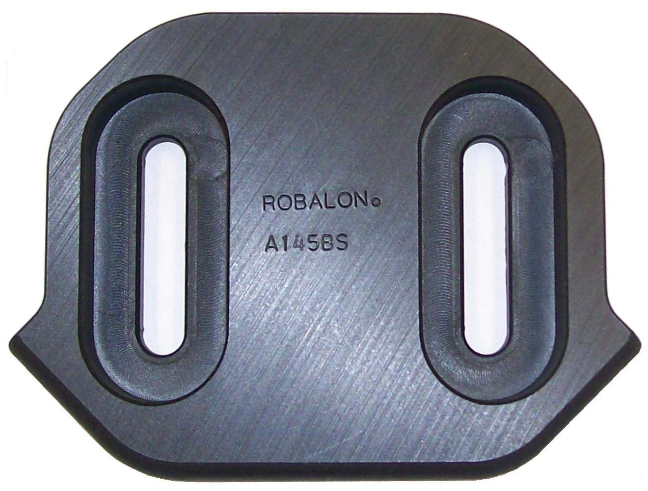 Robalon A145BS Composite Skid Shoe, Replaces Ariens/Johne Deere 02483059, AM123315 Black by Robalon