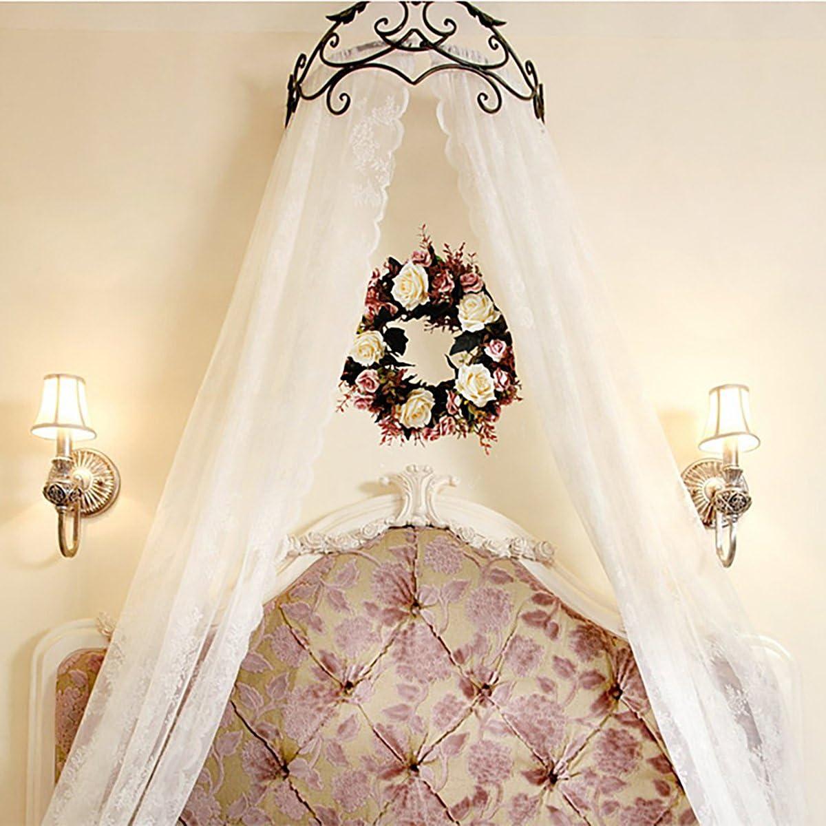 P/âques 35 cm l/ét/é Supreme glory Couronne d/écorative pour porte fabriqu/ée /à la main Couronne de fleurs artificielles pour le printemps