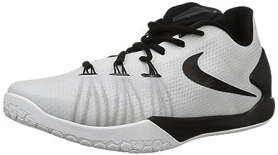sports shoes 74d70 83436 Nike Men s Hyperchase Basketball Shoe (3.5 D(M) US, White Black