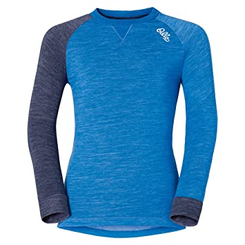 Odlo - Shirt L/S Crew Neck Revolution TW Warm K, Color Azul,