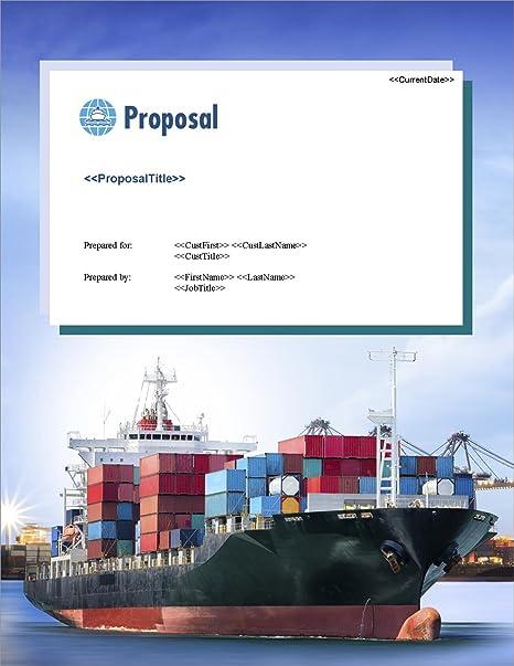 Amazon Com Proposal Pack Transportation 7 Business