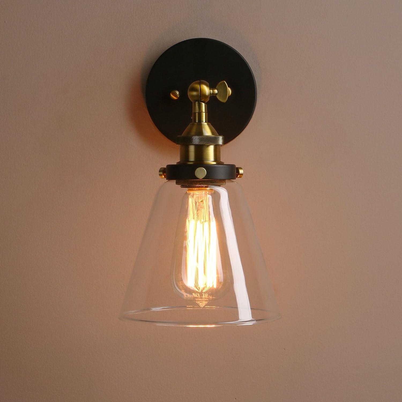 base black industrial jackyled lighting light sconce edison sconces vintage pack wall pin simplicity