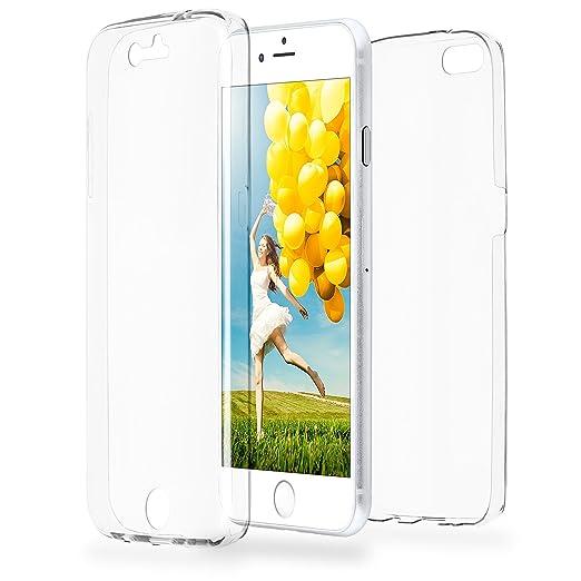 5 opinioni per Doppia cassa come nome del iPhone 7 | Trasparente Custodia in silicone copre
