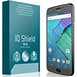 Moto X4 Screen Protector, IQ Shield Matte Full Coverage Anti-Glare Screen Protector for Moto X4 (4th Generation, 2017) Bubble-Free Film