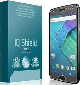 IQ Shield Matte Screen Protector Compatible with Motorola Moto X4 (4th Gen, 2017) Anti-Glare Anti-Bubble Film