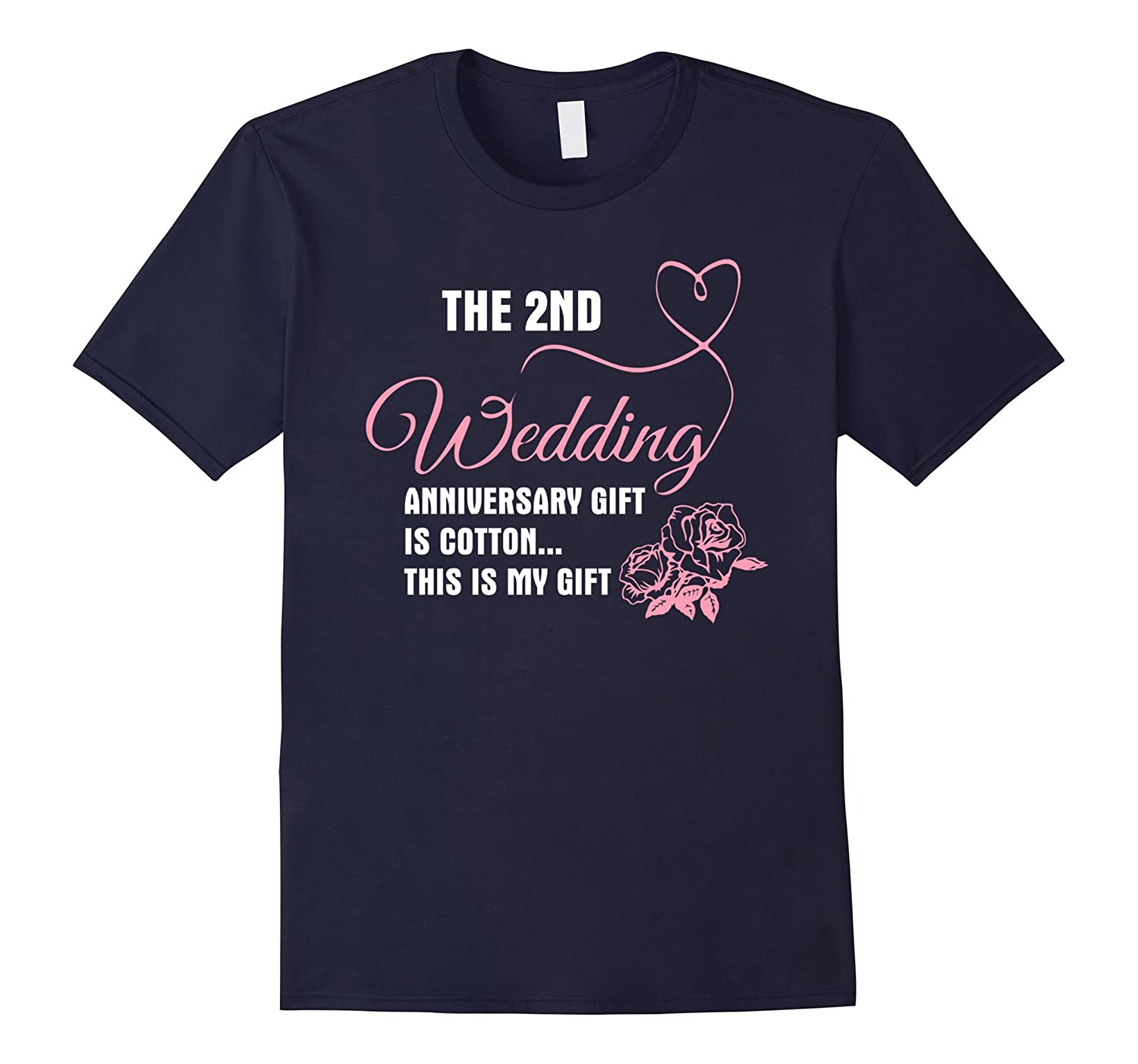 2nd Wedding Anniversary Shirt - Gift For My Lovers-CD