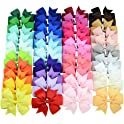 40-Pieces YHXX YLEN Larger Hair Bows Alligator Clips Hair Accessories