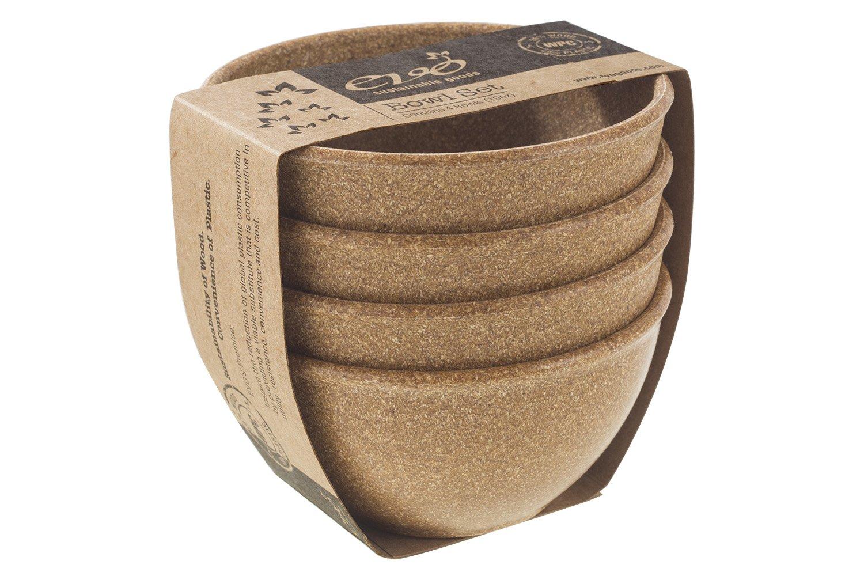 Bowl Set Dark Brown EVO Sustainable Goods 10 oz