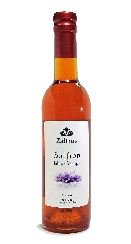 Zaffrus - Premium Saffron Infused Balsamic Vinegar Condiment of Modena, Italy | 375 ml / 12.7 fl.oz
